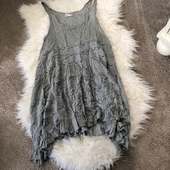 Free People Dresses & Skirts - Free People gray slip dress